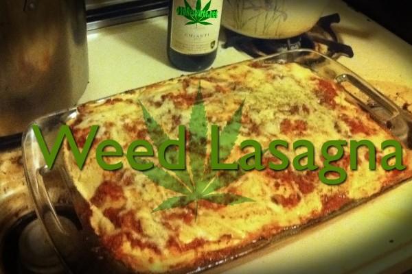 Weed Lasagna Recipe